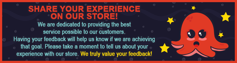 Share your experience on our store!